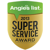 Our achievement - 2013 Angie's List - Super Service Award