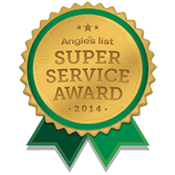Our achievement - 2014 Angie's List - Super Service Award
