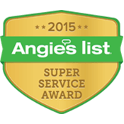 Our achievement - 2015 Angie's List - Super Service Award