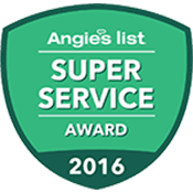 Our achievement - 2016 Angie's List - Super Service Award