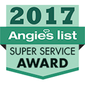 Our achievement - 2017 Angie's List - Super Service Award