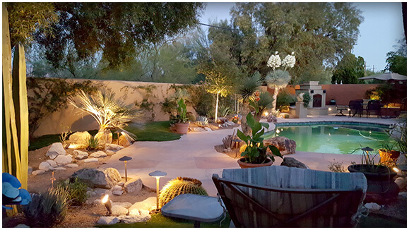 Tucson Landscape Lighting