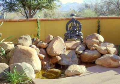 Groutless Waterfeature