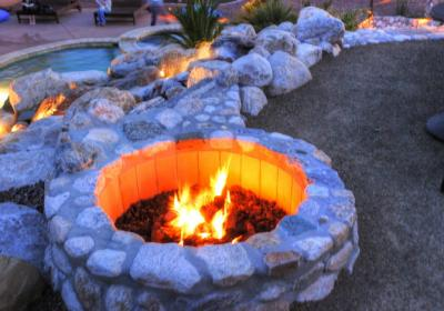 Upper Level Fire Pit